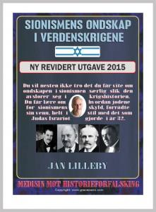 Cover til NY REV utgave Sionismens ondskap