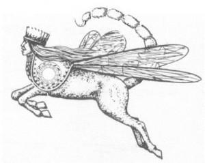 Gresshoppe med brodd