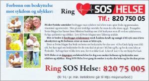SOS Helse   S M Pedersen