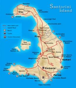 Santorini kart