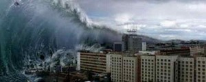 Tsunami wave of 30 meter hit Tel Aviv