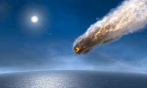 An asteroid plunges towards the Earth … relax. It (probably) won't actually happen.