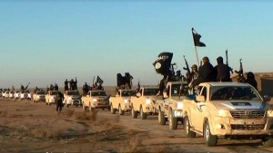 ISIS fake army in NEW trucks