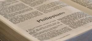 philippians-bible page